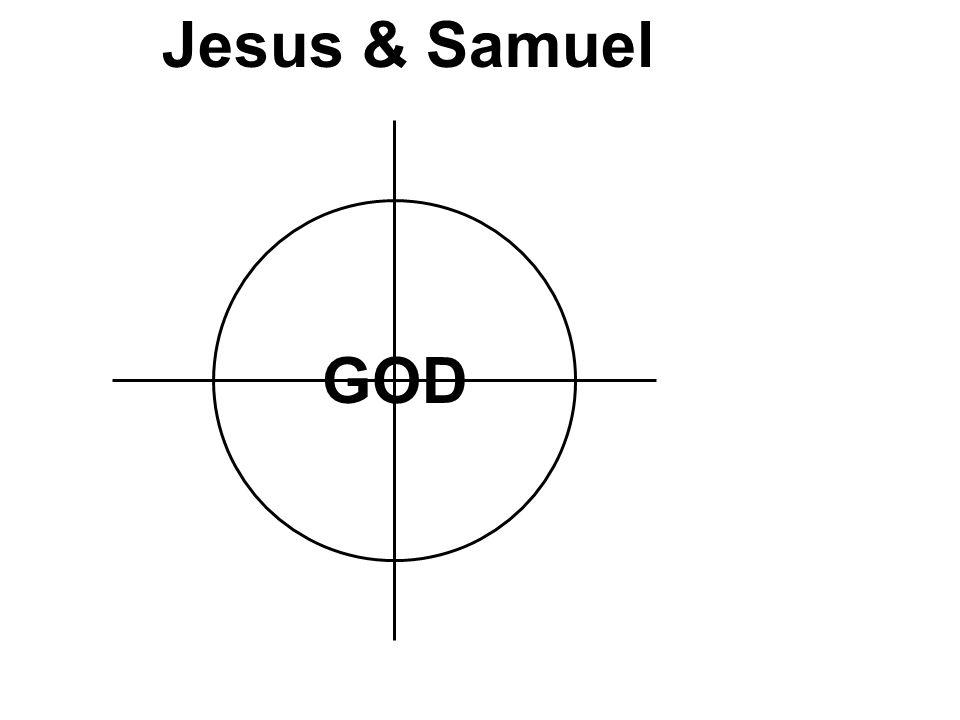 GOD Jesus & Samuel