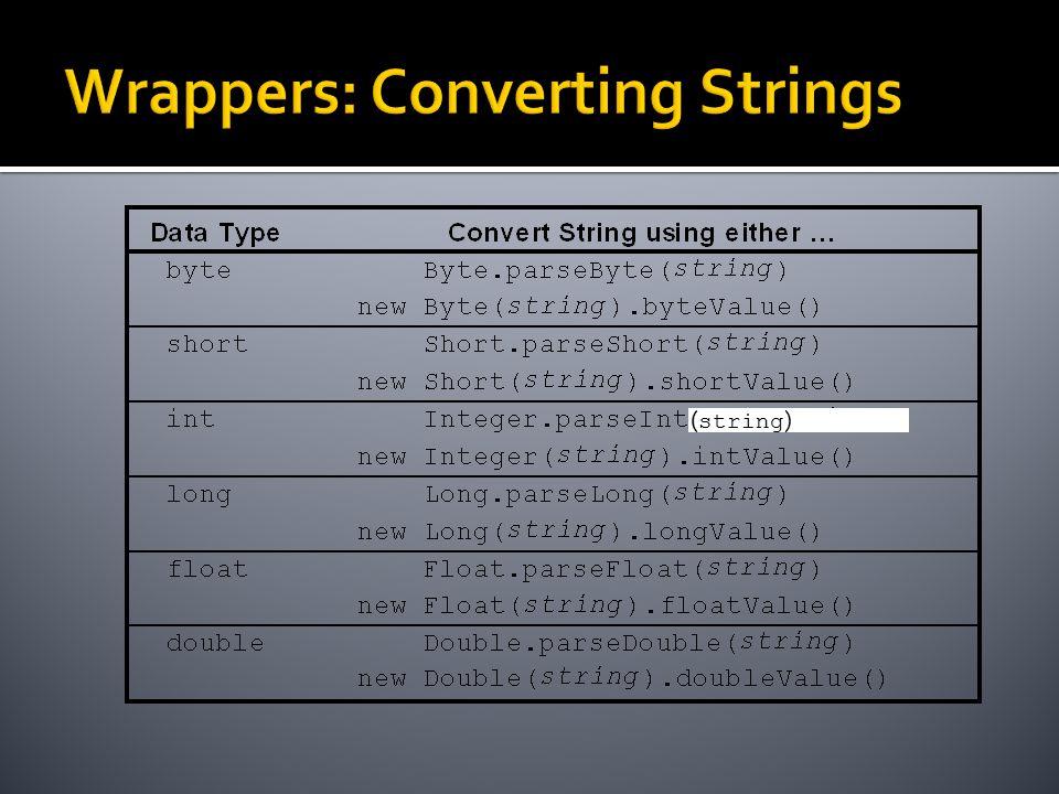 ( string )