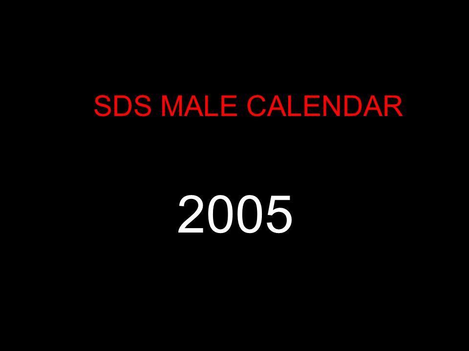 SDS MALE CALENDAR Il 2005