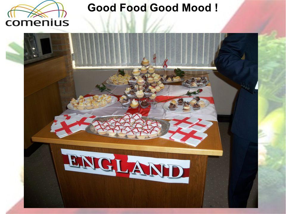 Good Food Good Mood !