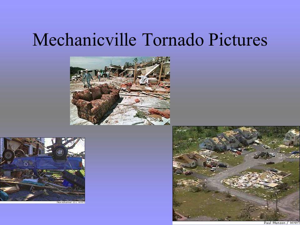 Mechanicville Tornado Pictures
