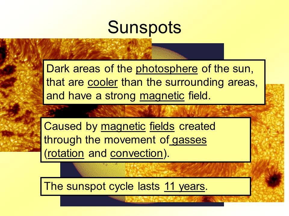 Sunspot Cycle Graph 11 years from low to low