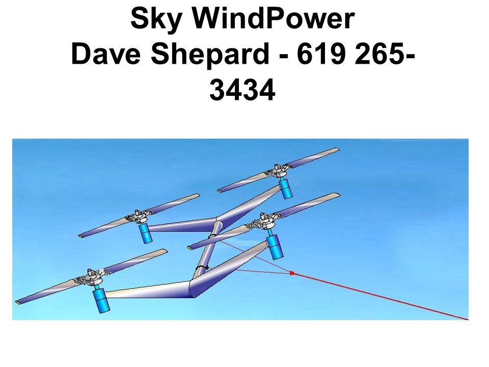Sky WindPower Dave Shepard - 619 265- 3434