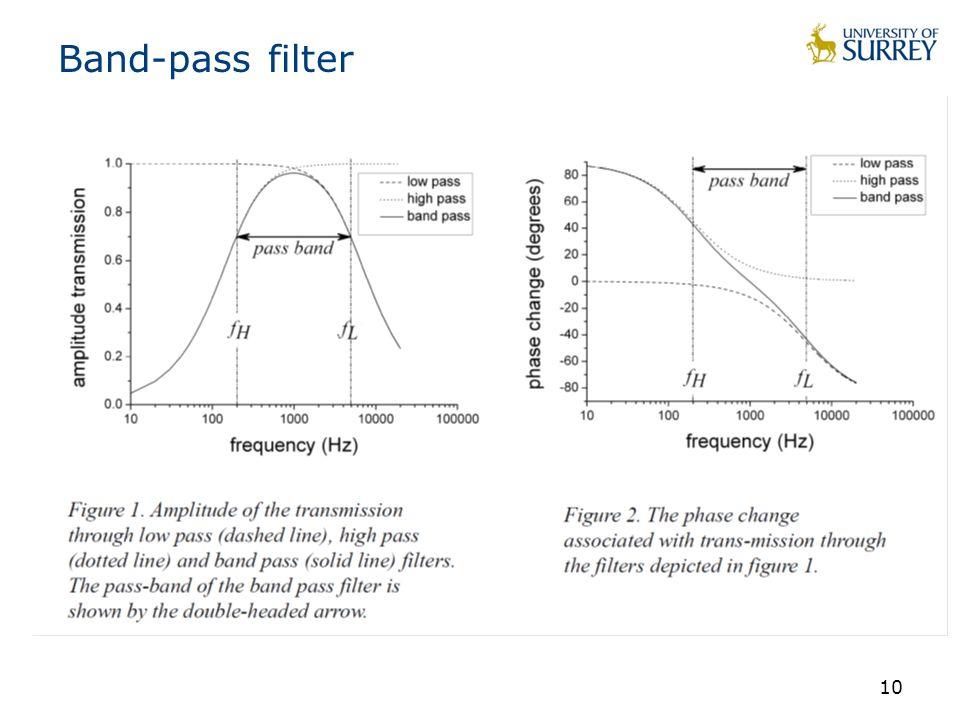 10 Band-pass filter