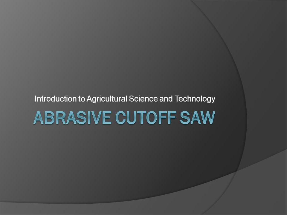 Introduction to Agricultural Science and Technology