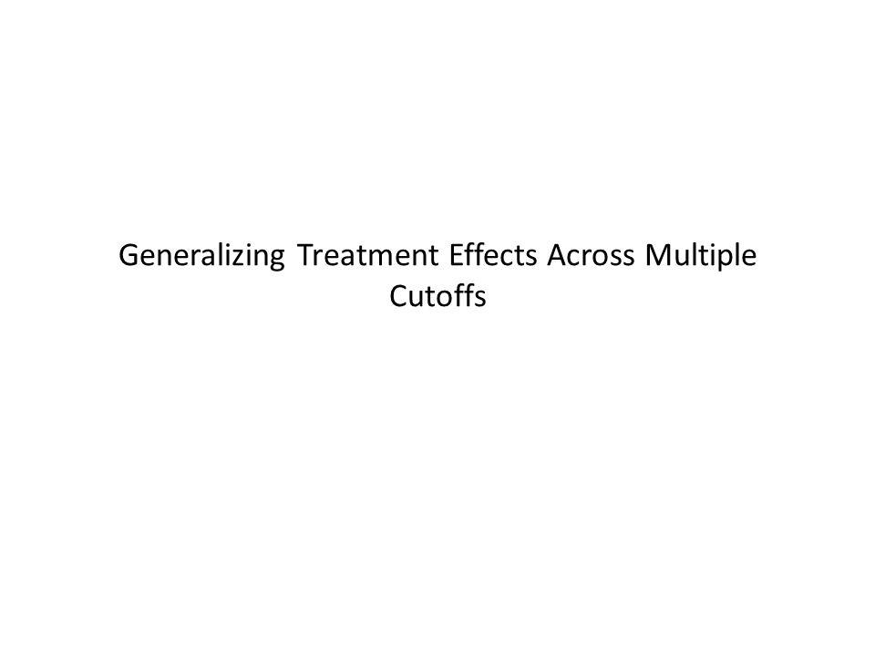 Generalizing Treatment Effects Across Multiple Cutoffs