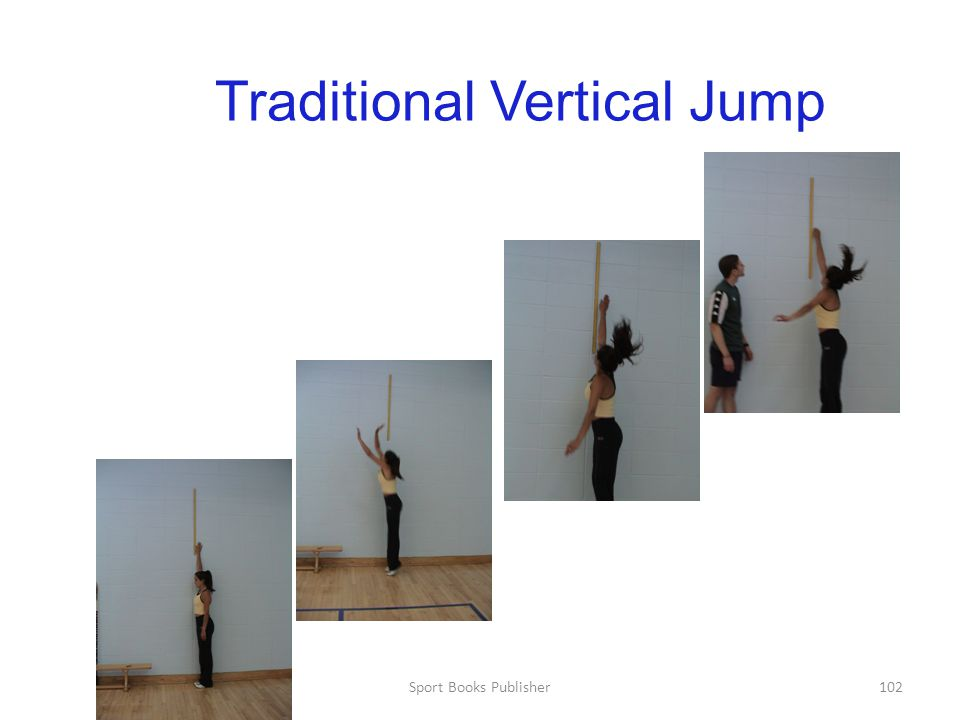 Sport Books Publisher102 Traditional Vertical Jump