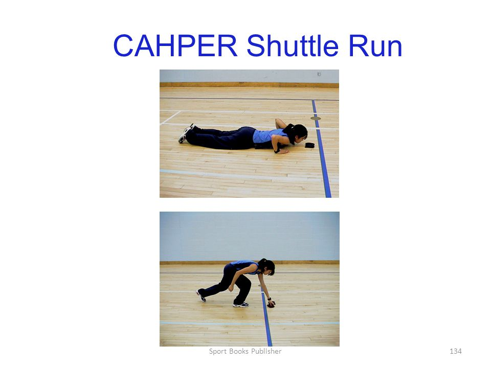 Sport Books Publisher134 CAHPER Shuttle Run