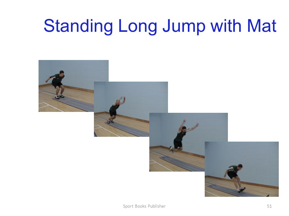 Sport Books Publisher51 Standing Long Jump with Mat