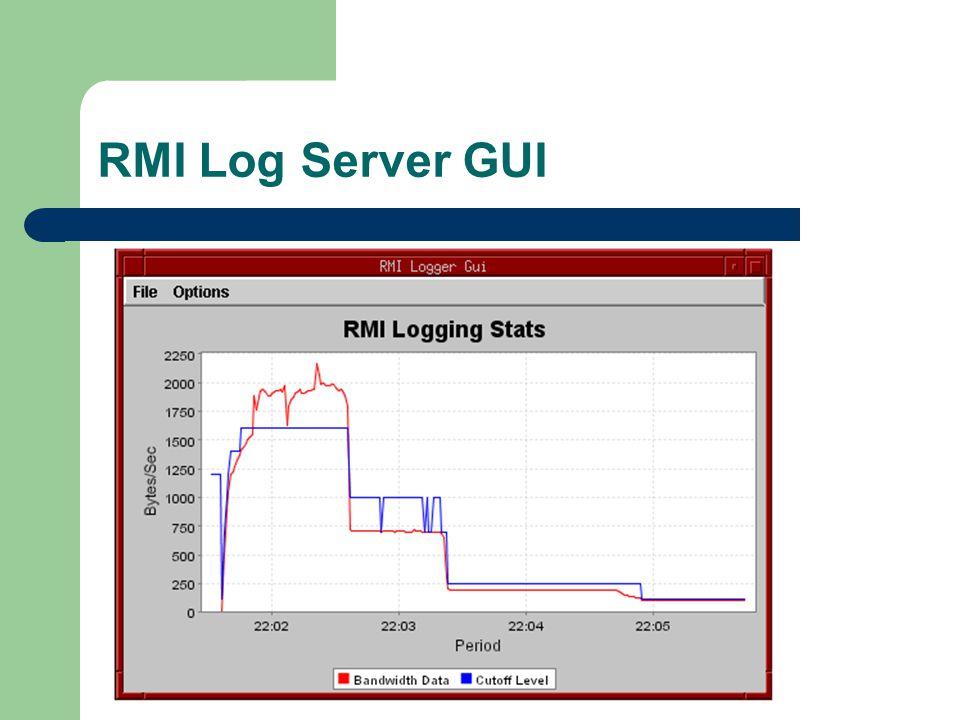 RMI Log Server GUI