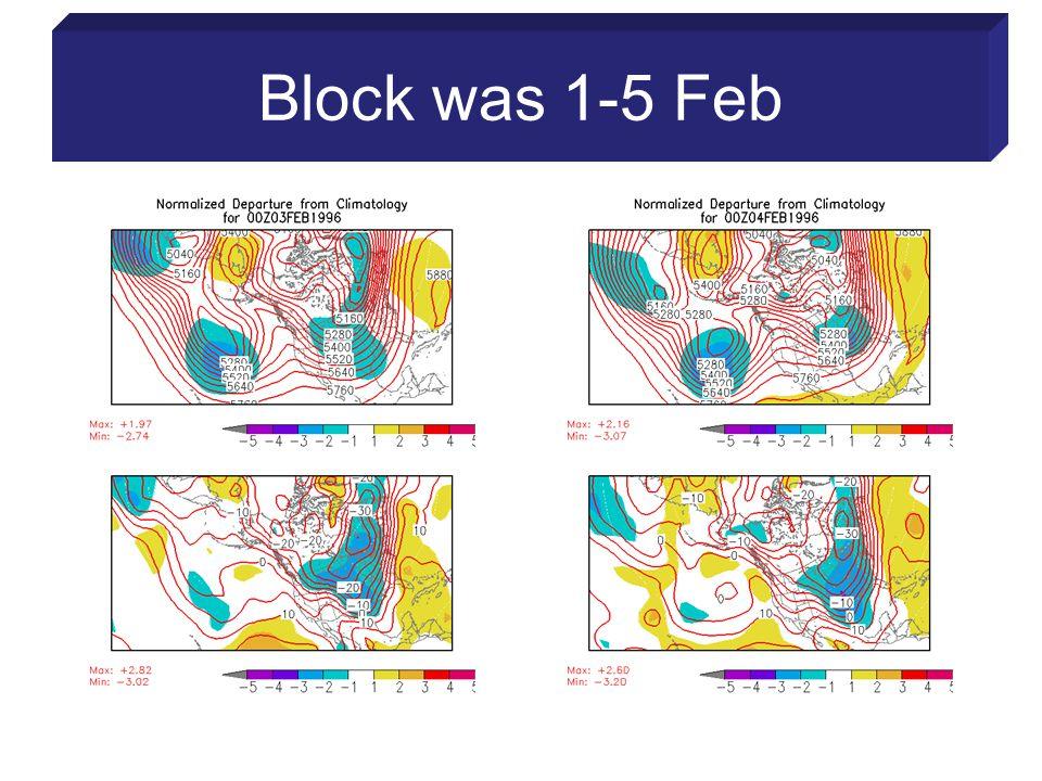 Block was 1-5 Feb