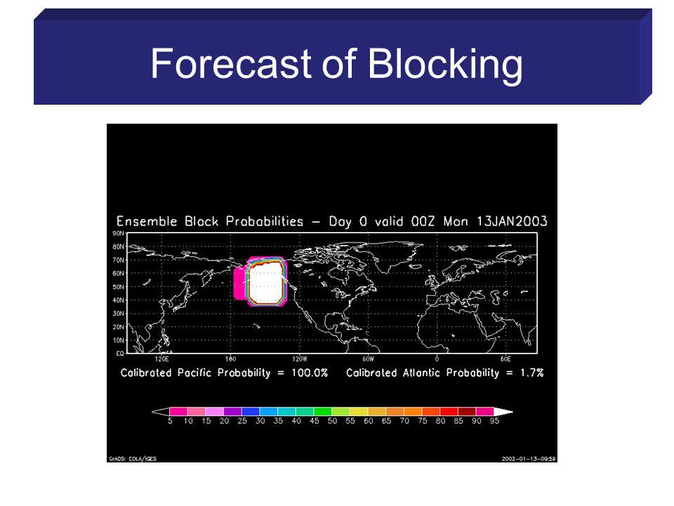 Forecast of Blocking