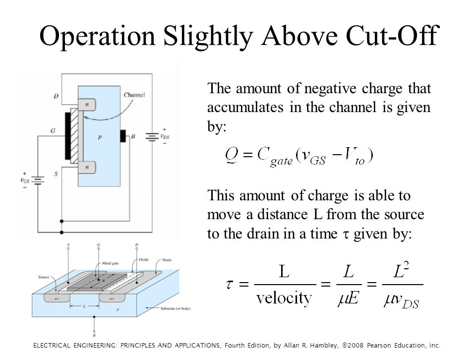 ELECTRICAL ENGINEERING: PRINCIPLES AND APPLICATIONS, Fourth Edition, by Allan R. Hambley, ©2008 Pearson Education, Inc. The amount of negative charge