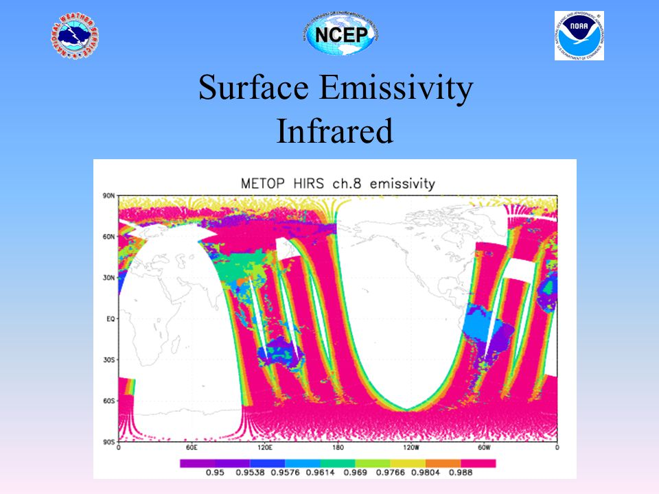 Surface Emissivity Infrared