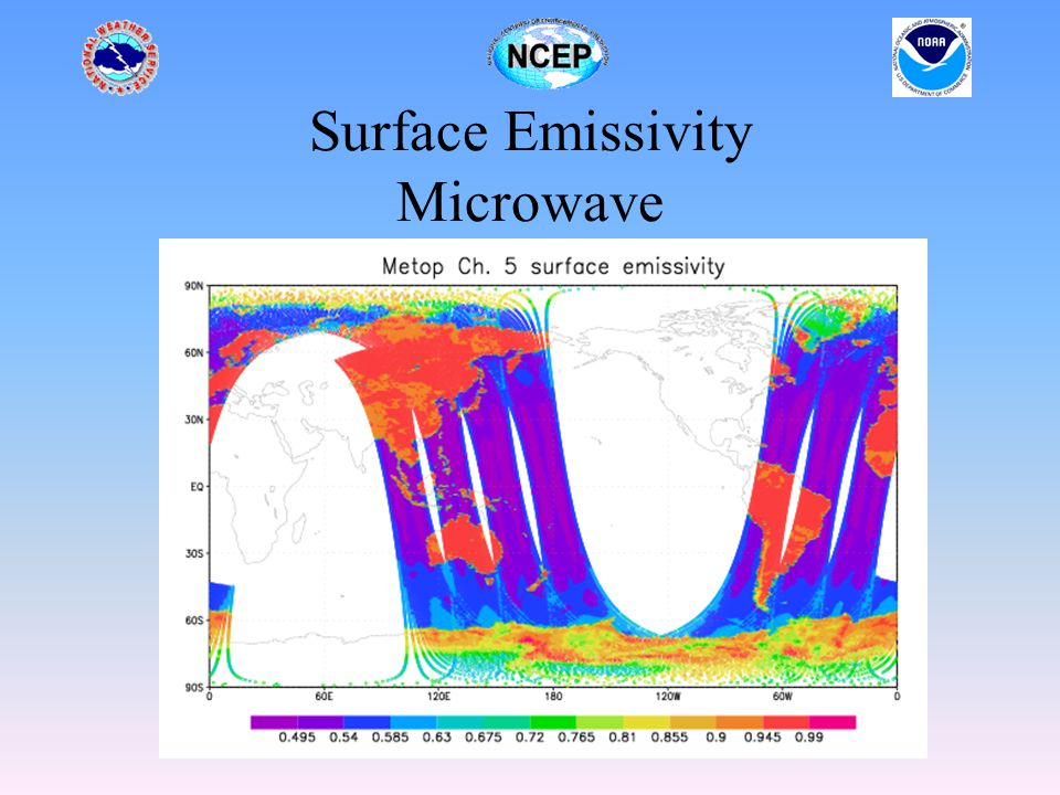 Surface Emissivity Microwave