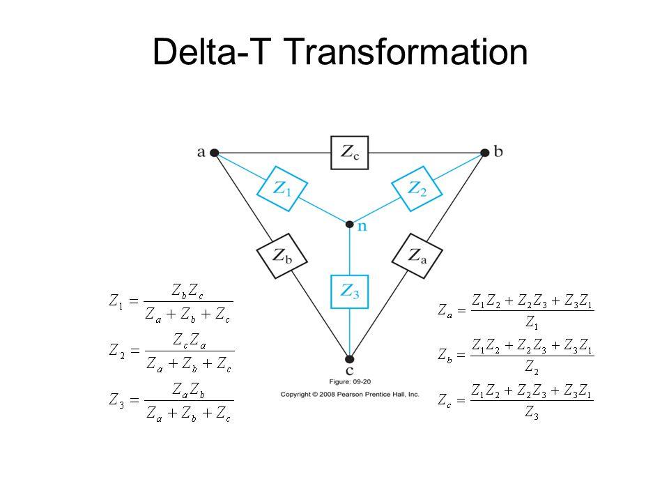 Delta-T Transformation
