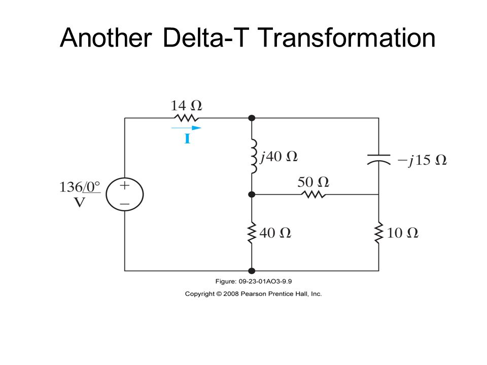 Another Delta-T Transformation