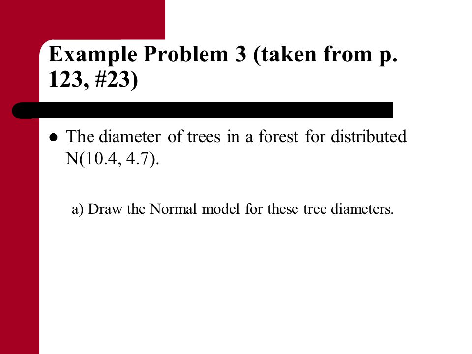 Example Problem 3 (taken from p. 123, #23)