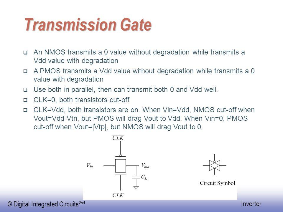 © Digital Integrated Circuits 2nd Inverter Propagation Delay