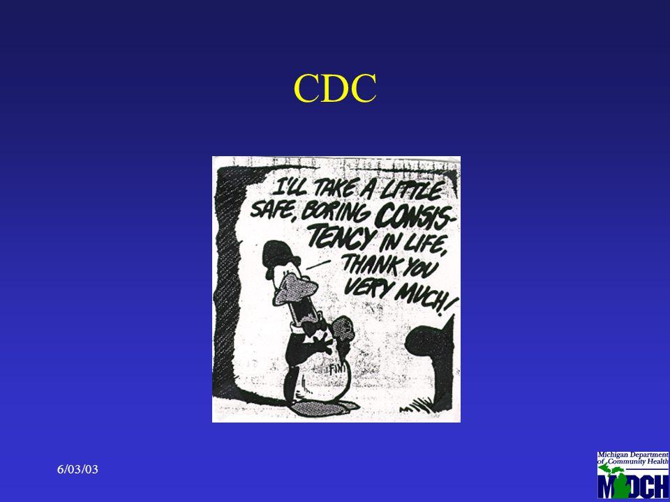 6/03/035 CDC