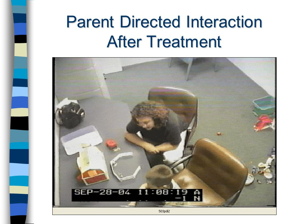 Parent Directed Interaction After Treatment