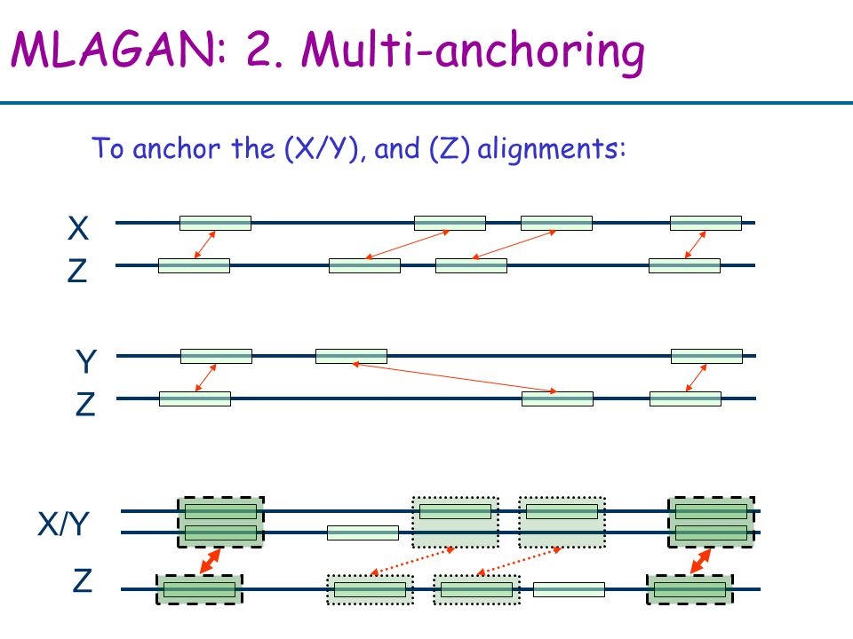 MLAGAN: 2. Multi-anchoring X Z Y Z X/Y Z To anchor the (X/Y), and (Z) alignments: