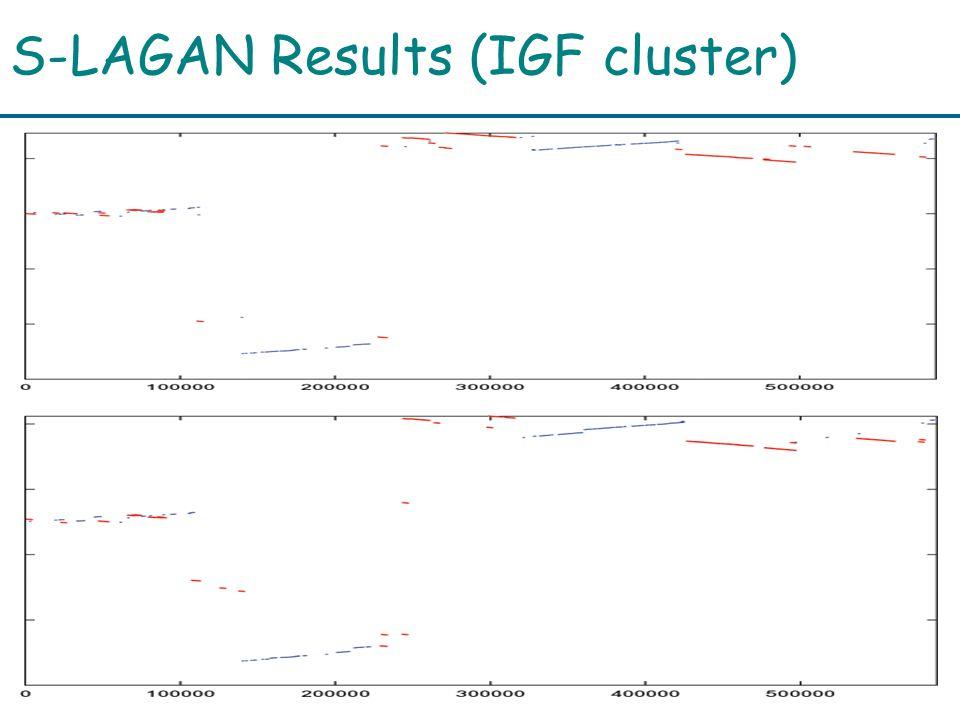 S-LAGAN Results (IGF cluster)