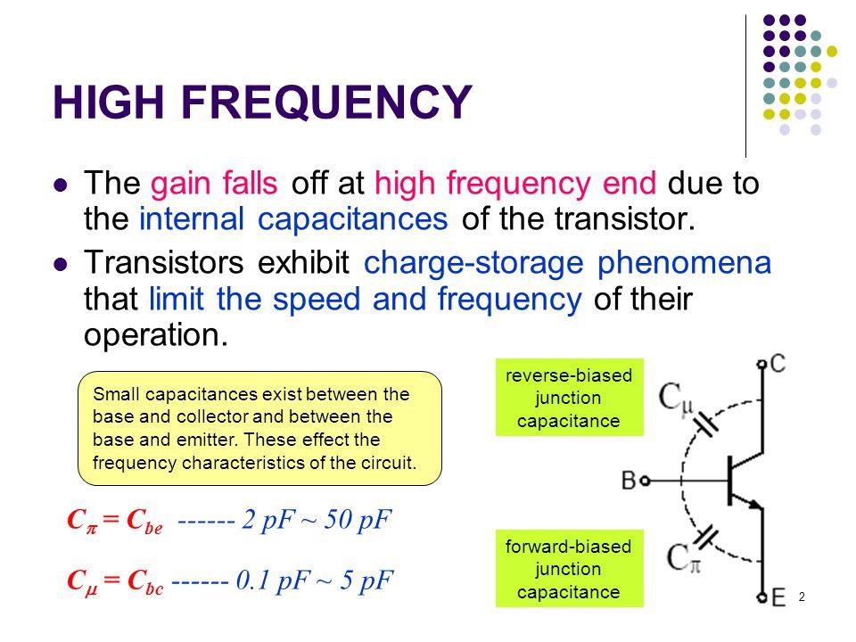 C ob = C bc C ib = C be  Output capacitance  Input capacitance Basic data sheet for the 2N2222 bipolar transistor 3