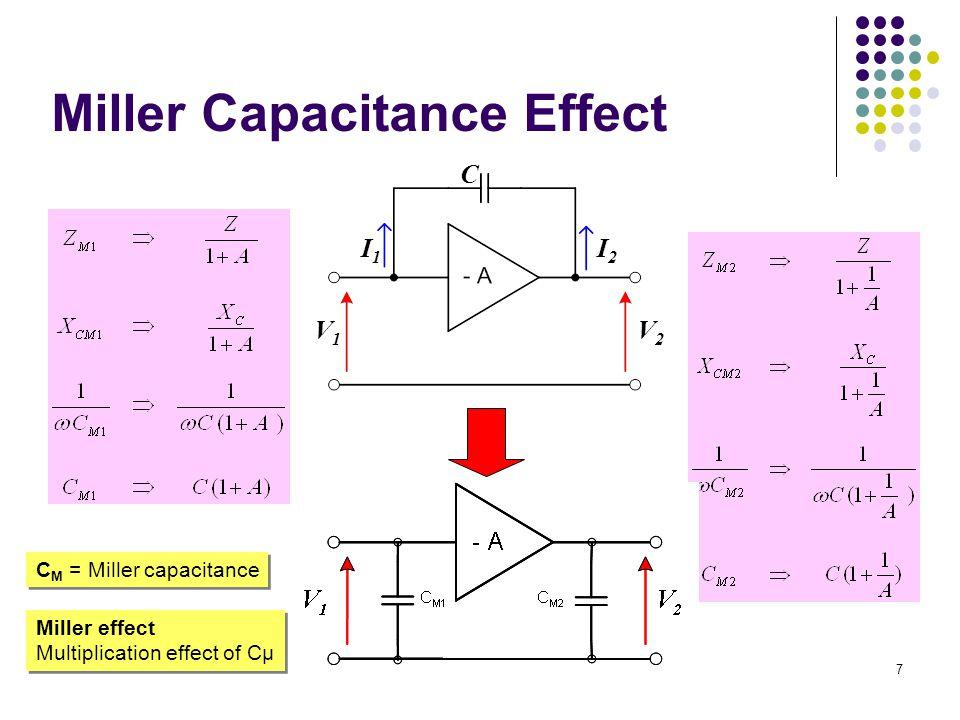 rr roro CC VV gmVgmV CC - + C  = C be C  = C bc High-frequency hybrid-  model 8
