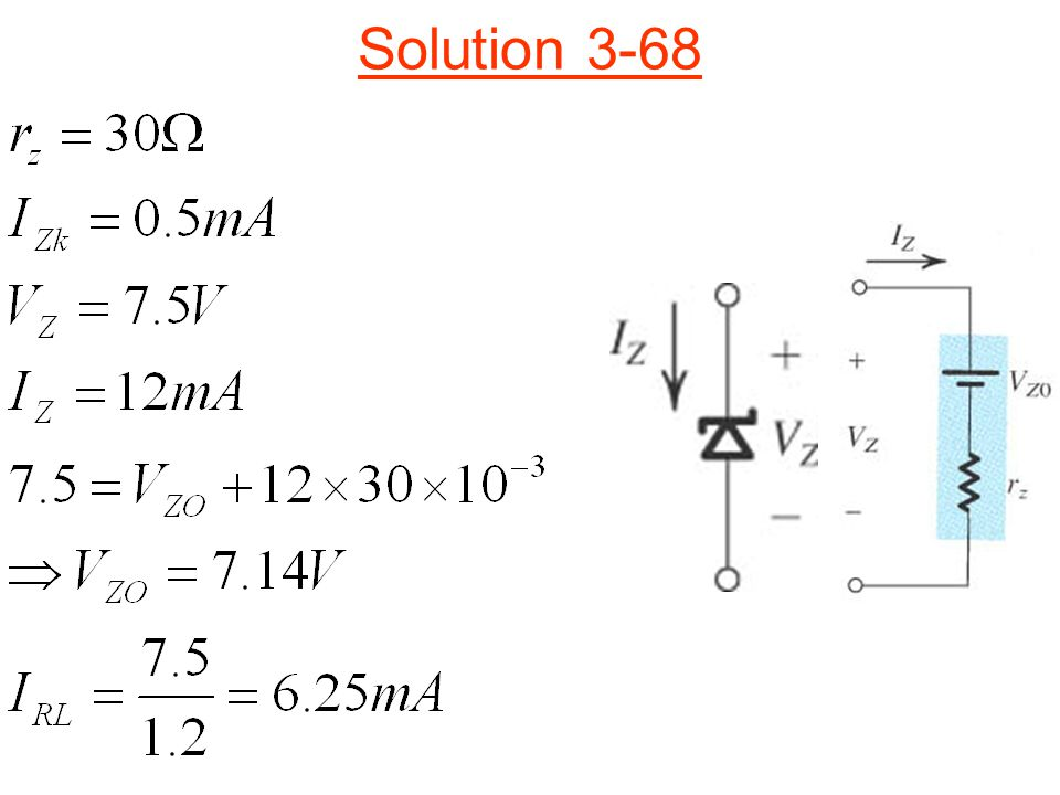 Solution 3-68