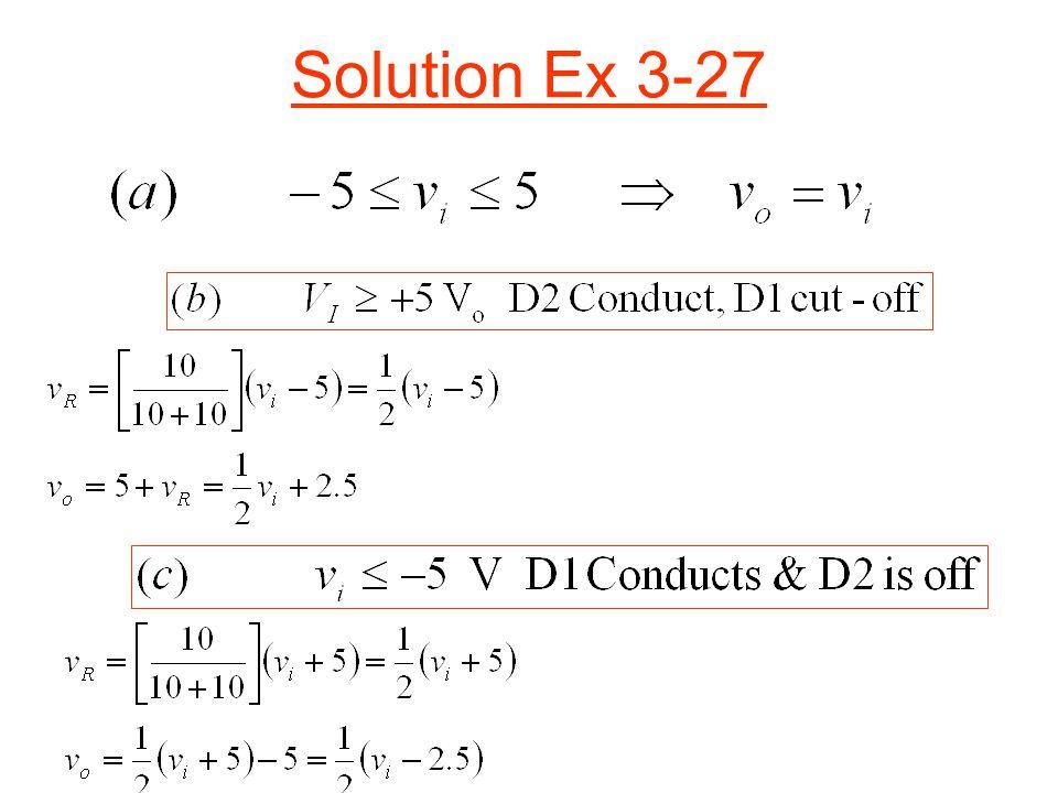 Solution Ex 3-27