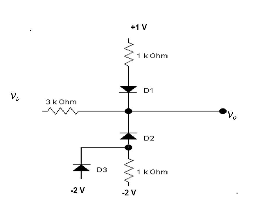 +1 V -2 V ViVi V0V0