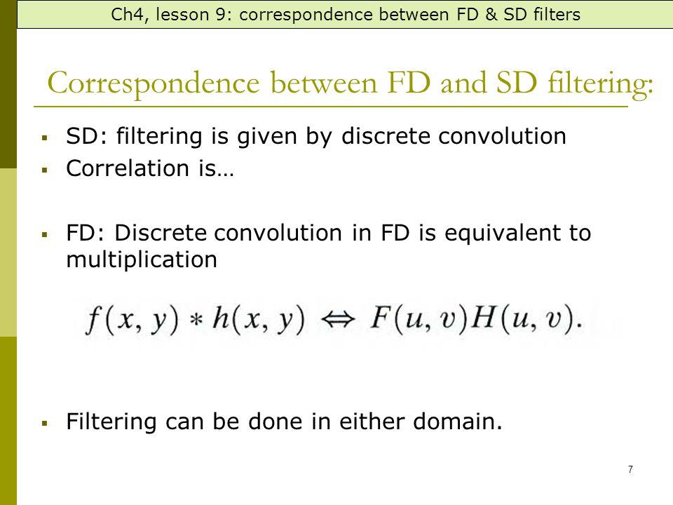 The 3 HPF SD representation