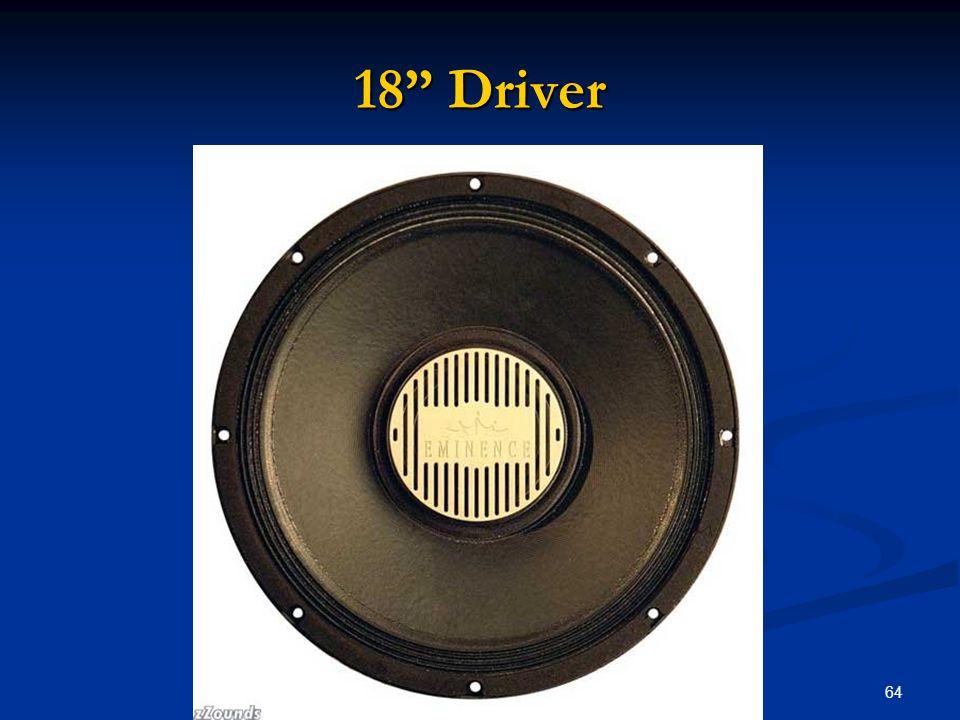 """64 18"""" Driver"""