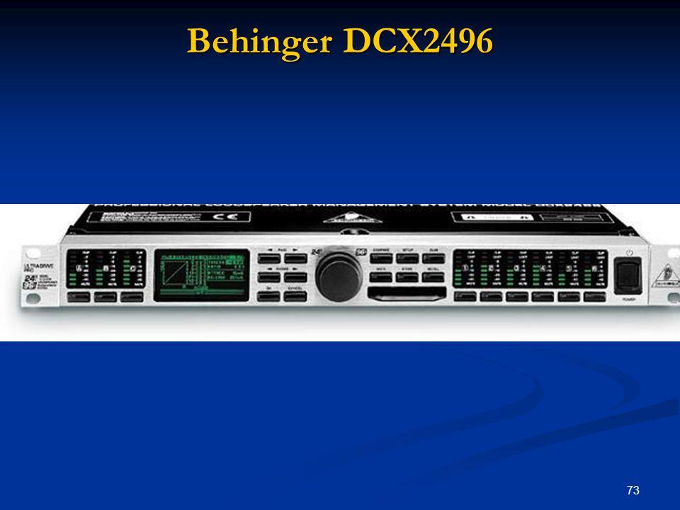 73 Behinger DCX2496