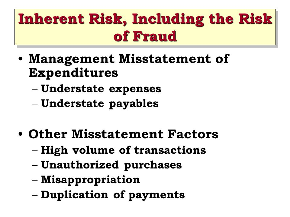 Designing Substantive Tests Tests of Details of Transactions – Vouch Recorded Payables to Supporting Documentation – Perform Cutoff Tests Purchases cutoff tests Cash disbursement cutoff tests Purchase return cutoff tests – Perform Search for Unrecorded Payables Subsequent payments