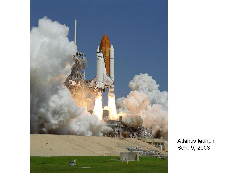 Atlantis launch Sep. 9, 2006