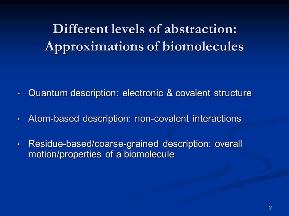 3 Intermolecular forces Intermolecular Forces, A.J. Stone