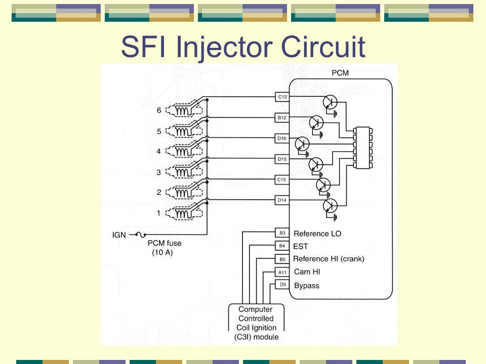 SFI Injector Circuit