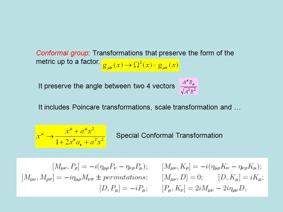 Consider the compact version For large n Mass spectrum KK expasion Same thing can be done for other Lorentz structure (there is a table of relations between dimensions and bulk masses in the Maldacena et al review)