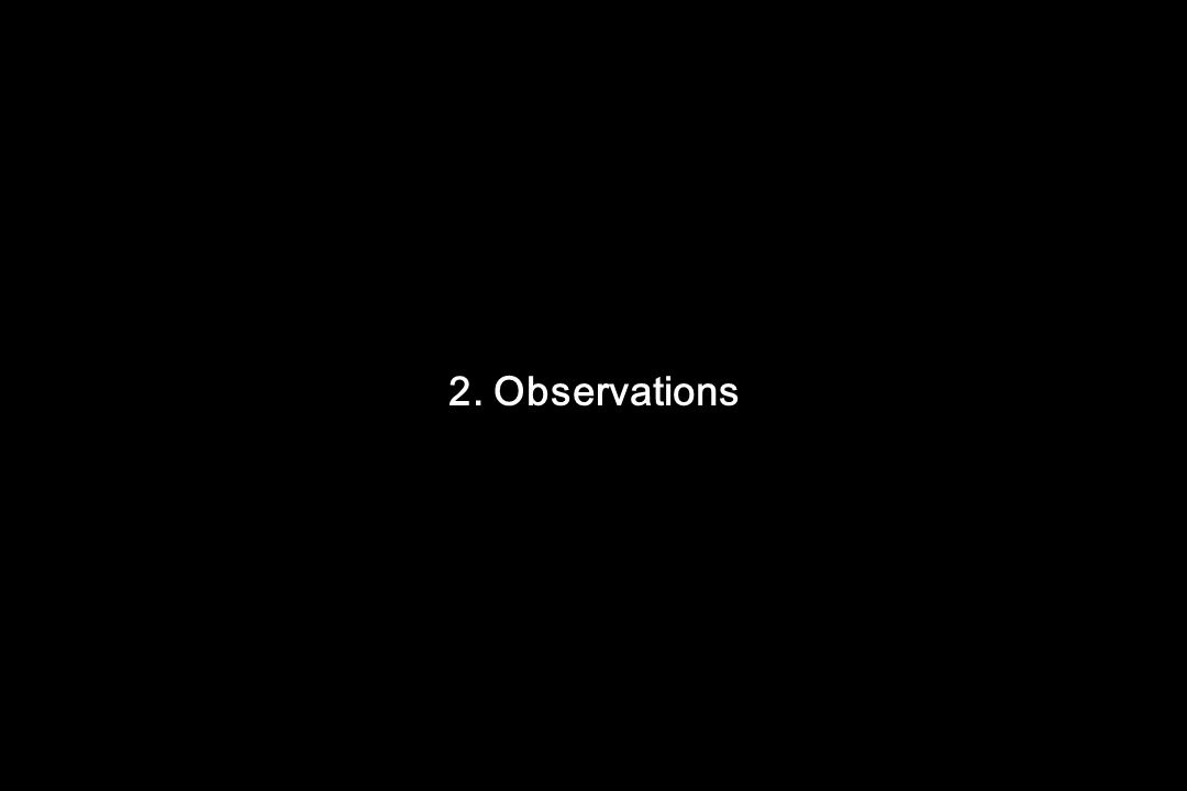 2. Observations