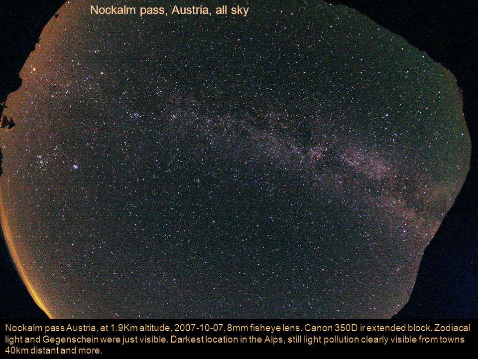 Nockalm pass Austria, at 1.9Km altitude, 2007-10-07, 8mm fisheye lens.
