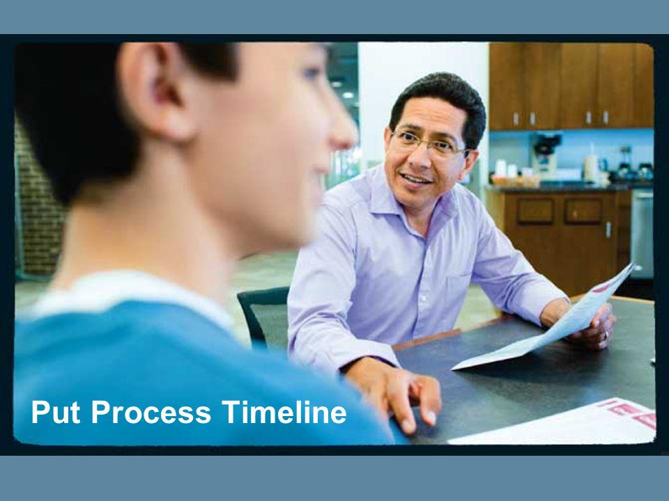 Put Process Timeline