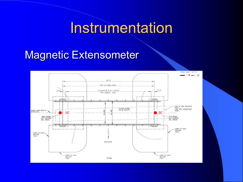 Instrumentation 1C2C Magnetic Extensometer
