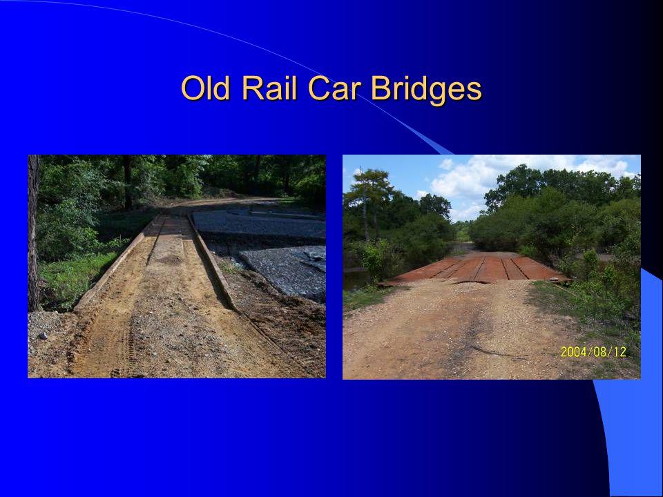 Old Rail Car Bridges