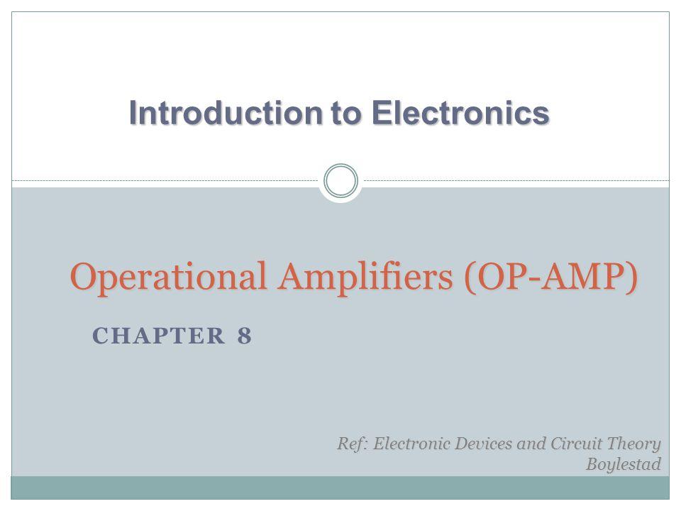OP-AMP Common Op-Amp Applications YTU-Dep.Electrical Eng.