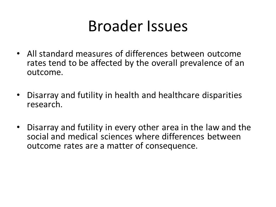 References 1 Can we actually measure health disparities.