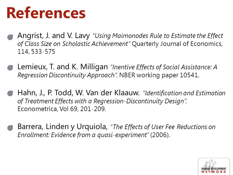 References Angrist, J. and V.