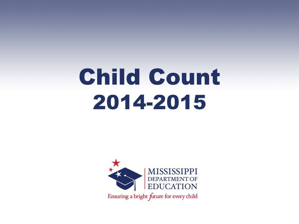 Child Count 2014-2015