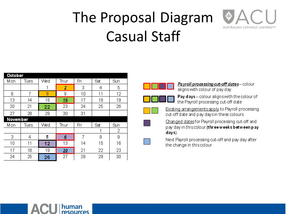 The Proposal Diagram Casual Staff